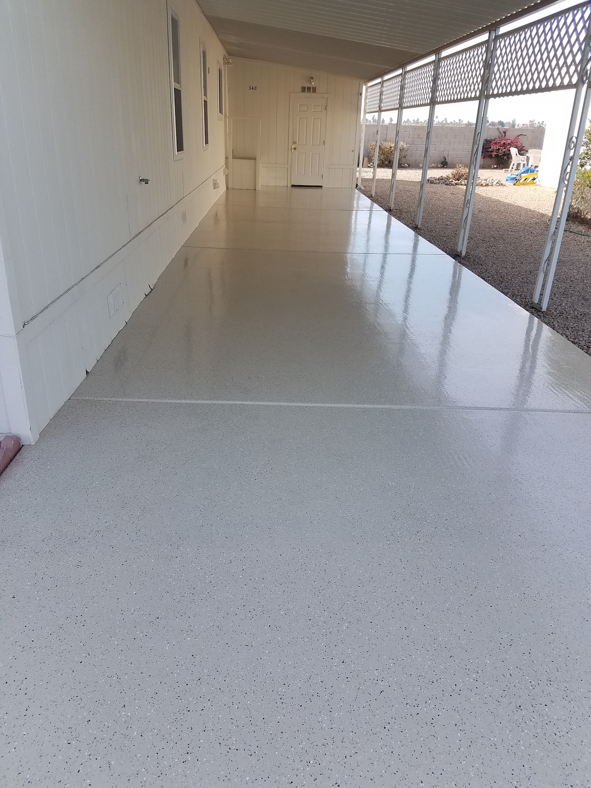 to epoxy with shoe colors paint coating brown and cost ideas garage floor rustoleum wood feature light